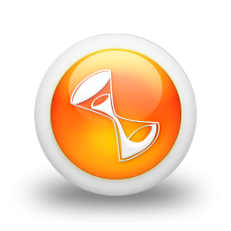 105335-3d-glossy-orange-orb-icon-business-hourglass2