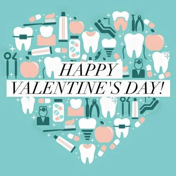 happy dental valentine's