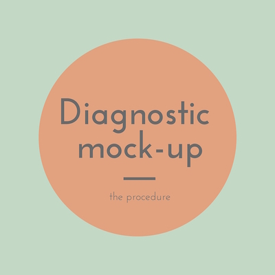 dental mock up-the procedure